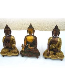 .REF15 – BOUDDHA (Robe sculptée)  H. 18cm (Reste : 2 pièces)