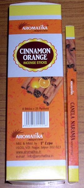 TOUS LES ENCENS AROMATIKA CARRE (Boîte de 25) 100% NATURELS sont à 4,50 EUR HT