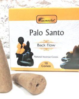 CONES BACK FLOW PALO SANTO  pour PE Fontaine résine ou céramique –  (couleurs végétales)