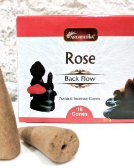 CONES BACK FLOW ROSE pour PE Fontaine résine ou céramique –  (couleurs végétales)