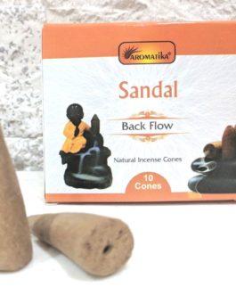 CONES BACK FLOW SANDAL pour PE Fontaine résine ou céramique –  (couleurs végétales)