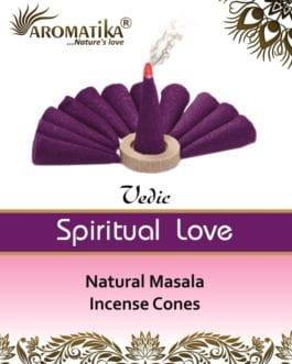 AROMATIKA CONES VEDIC MASALA SPIRITUAL LOVE  (Amour spirituel)