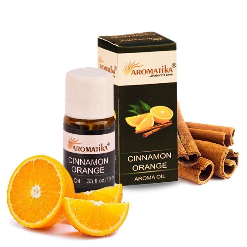 HUILE AROMATIKA PARFUMEE 10ml – CINNAMON-ORANGE (Cannelle-orange)