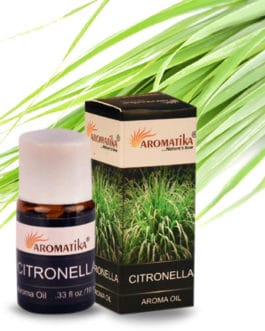 HUILE AROMATIKA PARFUMEE 10ml – CITRONELLA (Citronnelle)