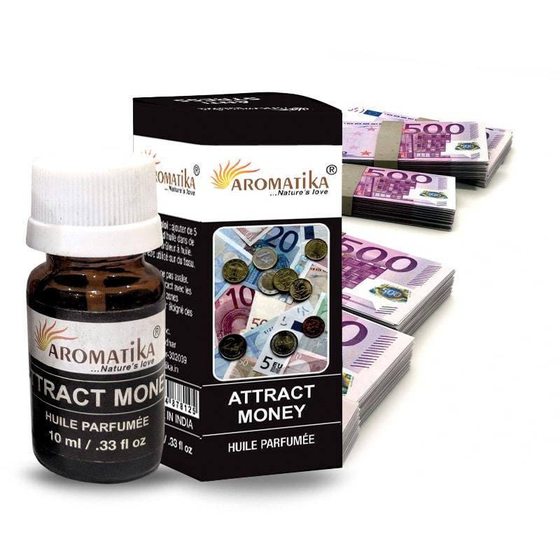 HUILE AROMATIKA PARFUMEE 10ml – ATTRACT MONEY (Attire l'argent)