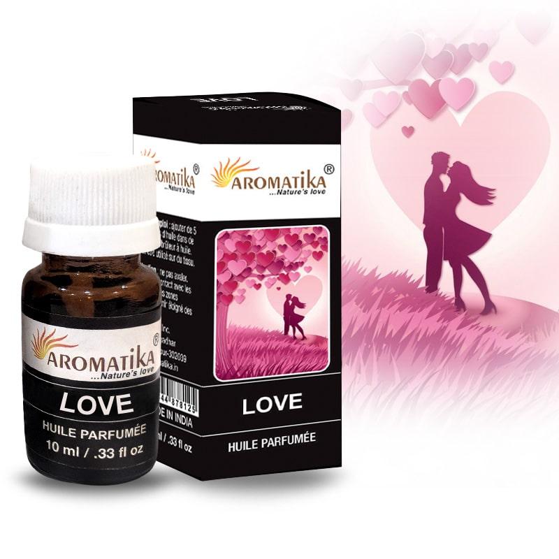 HUILE AROMATIKA PARFUMEE 10ml – LOVE (Amour)