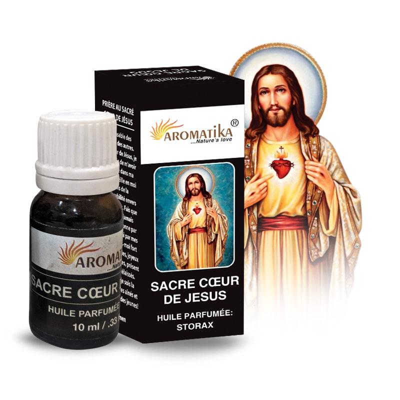 HUILE AROMATIKA PARFUMEE 10ml – SACRE COEUR DE JESUS