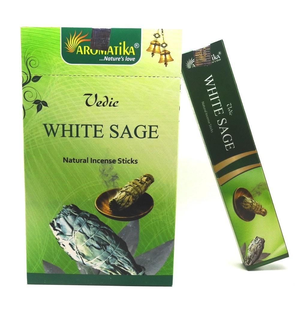 MASALA VEDIC WHITE SAGE (Sauge blanche) 15g