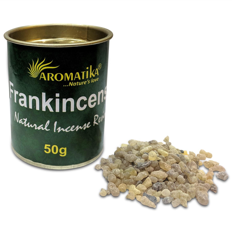 AROMATIKA RESINE NATURELLE FRANK INCENSE (Oliban)