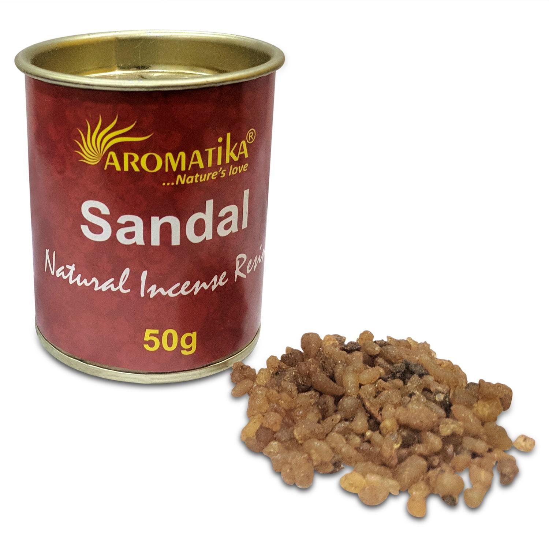 AROMATIKA ENCENS RESINE NATURELLE SANDAL (Santal)