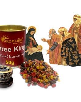 .AROMATIKA RESINE NATURELLE THREE KINGS (Les 3 Rois Mages) 50g
