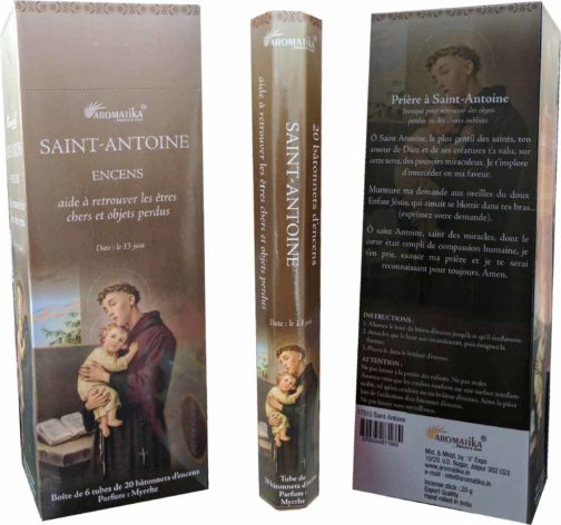 SAINT-ANTOINE  AROMATIKA HEXA avec Prière