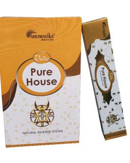 MASALA VEDIC PURE HOUSE (Maison purifiée) 15g – (Parfum : lemongrass)