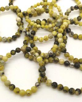 REF501 – BR. PIERRE perles 8mm avec 1 perle métal SERPENTINE