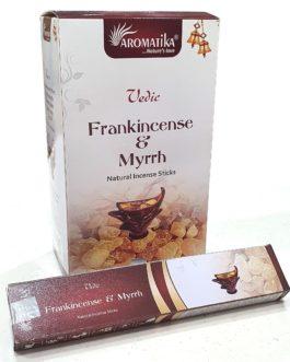 MASALA VEDIC FRANK INCENSE & MYRRH (Oliban-Myrrhe) 15g