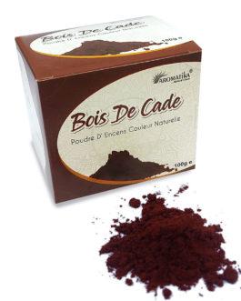 AROMATIKA POUDRE ENCENS 100g (avec kit pour cônes) BOIS DE CADE  (couleur naturelle)